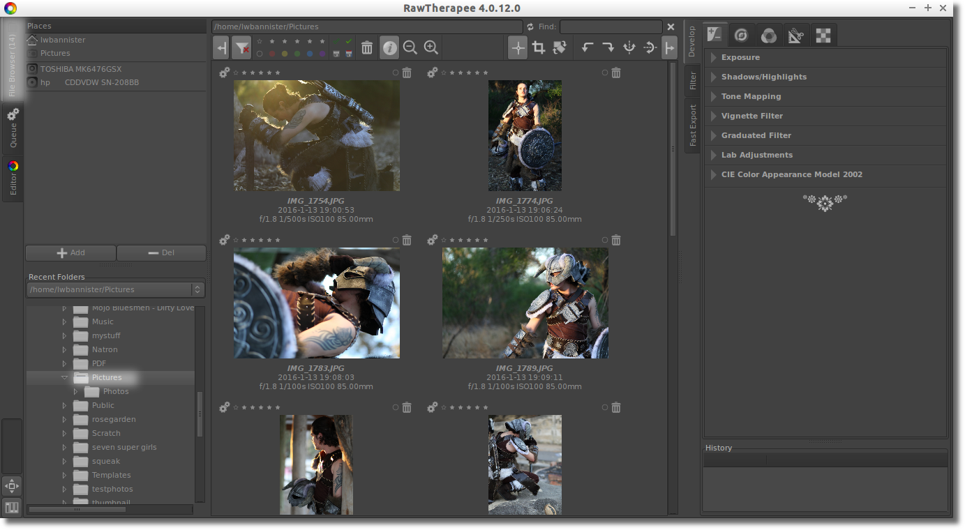 Basic workflow: Organising your photos | Bannister Technologies
